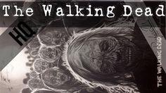 Desenhando The Walking Dead (Speed Drawing TWD)