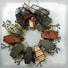 Jan Hobbins: Coffin box wreath