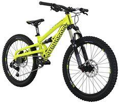 e56b0baa6ce Amazon.com : Diamondback Bicycles Splinter Complete Ready Ride Full  Suspension Youth Mountain Bike, Yellow, 24