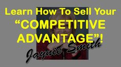 Get Your Competitive Advantage with Smart Advantage - Learn Marketing Strategies with Jaynie Smith - Smart Advantage is the only sales, marketing and management consultancy focused exclusively on identifying and communicating the most important element of successful competition -your competitive advantage- from your target market's perspective. For our video see https://youtu.be/x2XNXecMvcg