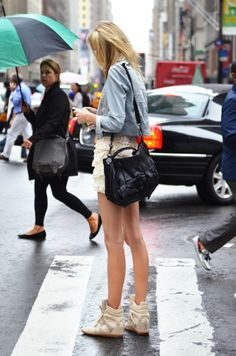 Yes. Yes. Yes. Anything with a Proenza Schouler bag is amazing, not to mention the ruffle skirt and sneakers