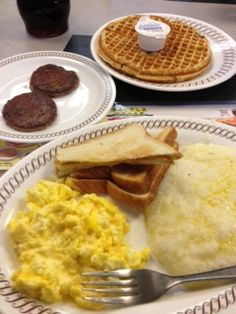 In Atlanta, Waffle House is not a meal - it is a way of life! Waffle House, Food Picks, Breakfast In Bed, Interesting Stuff, Illusions, Waffles, Atlanta, Brunch, Yummy Food