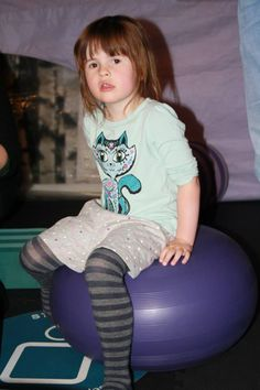 Sit or roll on the curved edge to build up balance and core muscles http://blossomforchildren.co.uk/at-home/78-bobles-donut.html