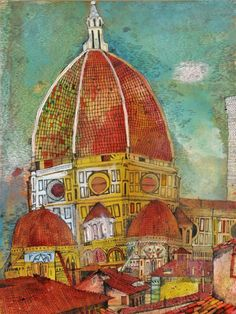 Christopher Tate Art - Other Gallery Italy Tours, Taj Mahal, Past, Digital Art, My Arts, Artsy, Architecture, Gallery, Drawings