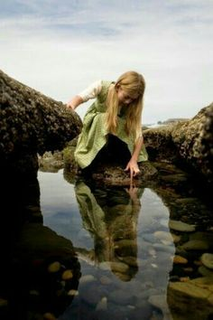 A Soul is like a Child, Wild and Free ∮ What would the world be, once bereft Of wet and wildness? Let them be left, Oh let them be left, wildness and wet; Story Inspiration, Writing Inspiration, Character Inspiration, Avatar, Green Beach, Tide Pools, Cecile, All Nature, Belleza Natural