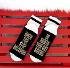 A personal favorite from my Etsy shop https://www.etsy.com/ca/listing/476825609/02-winebeer-socks-bring-me-wine-socks
