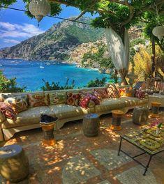 The beautiful Villa Treville in Positano Italy  #travel #Italy #luxury  by travelingtheworldd