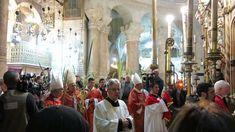 Church of the Holy Sepuchre, Jerusalem: Palm Sunday Procession