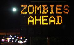 You should never hack a road sign as part of a prank. But what if you know that there really are Zombies ahead? What then??