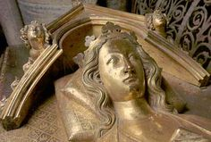 "Eleanor of Castile (1241 - 1290) wife of Edward I, whom she married at age 9 and he at 15. She died in Nottinghamshire while en route to Scotland to join Edward. So grief stricken was Edward, he ordered a cross erected at each stop her funeral cortege made during the journey back to London. Of the 12 ""Eleanor Crosses"", three are still standing today. She is interred at Westminster Abeey"