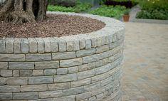 Fairstone Tumbled Sandstone Garden Walling - Silver Birch