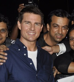 Me with Tom Cruise......Mission Impossible Accomplished :)