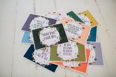 Hymn Cards | The Magnolia Market -- love the idea of putting these on an easel and switching them from time to time...