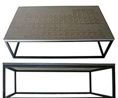 Periodic Coffee Table in Cast Concrete