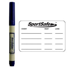 I needed something like this back when I was on the swim team! Temp tattoo for swimming events. MeetMinder Youth Swimmer Event Tracking System - One SportSafe Ink Skin Marker Plus 12 Temporary Tattoo Event Templates SportSafe http://www.amazon.ca/dp/B00F2Z5LE8/ref=cm_sw_r_pi_dp_e0L7ub1JN5GJ5