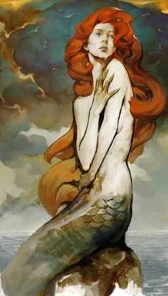 Kai Fine Art is an art website, shows painting and illustration works all over the world. Art And Illustration, Illustrations, Kunst Inspo, Art Inspo, Fantasy Kunst, Fantasy Art, Fantasy Creatures, Mythical Creatures, Mermaids And Mermen