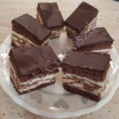 Hungarian Desserts, Brunch, No Bake Desserts, Yummy Treats, Tiramisu, Muffin, Food And Drink, Sweets, Candy