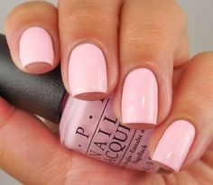 OPI: ❤ What's the Double Scoop ❤ ... a beautiful LIGHT PINK creme nail polish from the OPI Retro Summer Collection for 2016