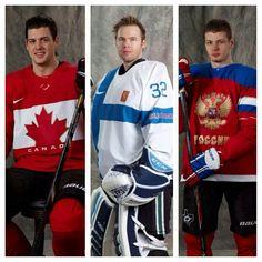 Jamie Benn, Kari Lehtonen,  Valeri Nichushkin- our Dallas Stars Olympians!
