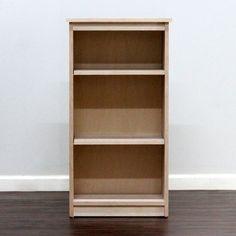 Gothic Cabinet Craft - Birch Bookcase 12x19x36, $99.00 (http://www.gothiccabinetcraft.com/birch-bookcase-12x19x36/)