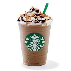 Yummers! Frappucino...sometimes with white choc and peppermint...sometimes just plain old coffee...