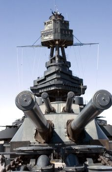 Battleship Texas - spent the night on it with my son when he was in scouts.  Great time.