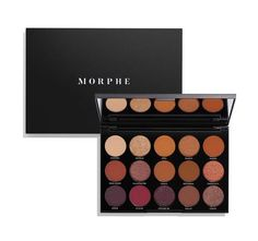 """Description Shade Names Ingredients Exclusively at Morphe! LIMITED-EDITION HOLIDAY COLLECTION This mirrored palette of crazy-creamy, powerfully pigmented, beyond-blendable eyeshadows is ready for a night on the town. Mix, match, and blend the rules.GET THE """"NIGHT MASTER"""" LOOK: see featured modelEYES Brow Highlight: Unique Crease: Opal (inner), Shook (center), Hello (outer) Eyelid: Unique (all-over) Lower Lashline: Va Va Voom Eyeliner: Gel Liner in Black Lashes: BombshellLIPS C..."""