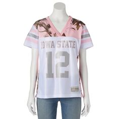 Women's Realtree Iowa State Cyclones Game Day Jersey, Size: Medium, White