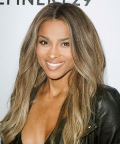 Ciara gives us all the details on her new blonde hair.