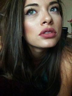 Kat Von D liquid lipstick in Lolita.