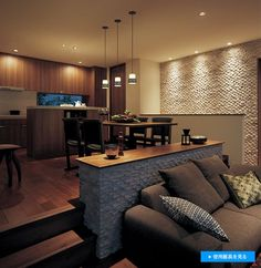 Villa Resort(ヴィラ・リゾート) |インテリアイメージ例 | 照明器具 | Panasonic House Design, Sunken Living Room, Home, Room Interior, House Interior, Indian Home Interior, Home Interior Design, Interior Design, Living Room Designs