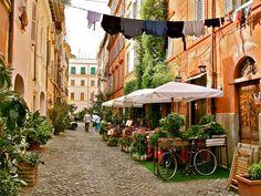Viertel Trastevere in Rom
