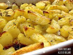 ★★★★★ Patate croccanti aglio ed origano - Molliche di zucchero