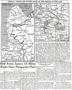1944 the Russians started in towards Memel now 'Klipedia'& German Army started to evacuate civilians Nov-Jan. My Omi, Mom & 2 uncles had to flee the feared Russians. My uncle was in a stroller w/photos/papers hidden & by foot,boxcar,truck trekked 900 kil to N Germany.