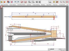 3d Autocad, Data Flow Diagram, Bicycle Drawing, Wooden Bicycle, Cad Software, Business Software, Bicycle Design, Drawing Tools, Bed Furniture