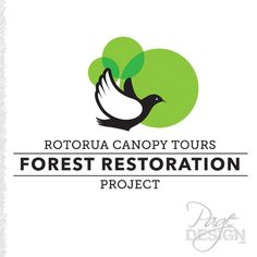 Logo for Rotorua Canopy Tours Forest Restoration Project Rotorua, New Zealand