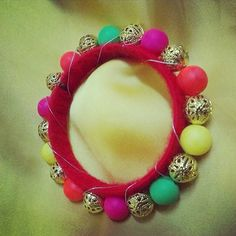 Diwali gift: Multi coloured bangle. Product available at: https://www.facebook.com/1stchoicegift