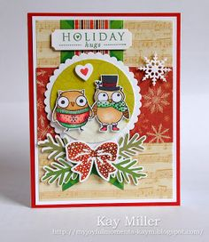 My Joyful Moments: Merry Monday #46  Stamps are from Hero Arts and Papertrey Ink
