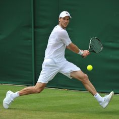 New goal: to have thighs like Andreas Seppi #wimbledon #tennis #teamfila