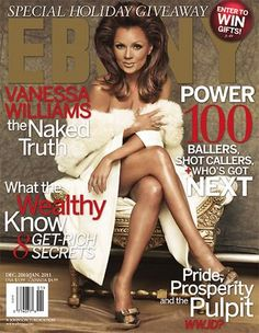 Vanessa Williams on Ebony cover. Definitely got sent this from America by one of my friends.
