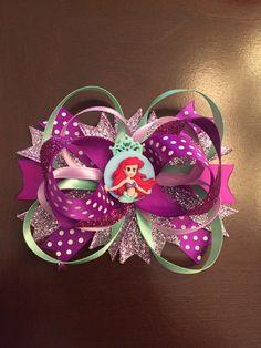 Ariel hairbow 💜🎀