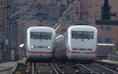 В Германии - распродажа билетов на международные поезда