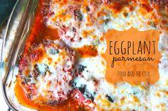 Perfect meatless monday - Eggplant Parmesan!