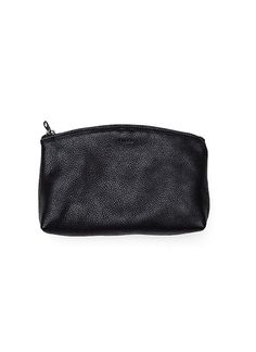 "BAGGU's lux Small Leather Clutch is great for stashing valuables, makeup, and other daily essentials. Made from BAGGU's softest natural milled wide, 5 ¾ "" tall, 2 ¼ "" deep. Fully lined. Made in the USA. Simple Bags, Leather Clutch, Zip Around Wallet, My Style, Gifts, Stuff To Buy, Accessories, Black, Paper Planes"