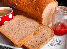 Hrnkový chléb téměř bez práce | NejRecept.cz 20 Min, Confectionery, Kefir, Cornbread, Banana Bread, Hamburger, Ethnic Recipes, Desserts, Food