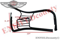 PAIR STEEL BLACK FRONT BUMPER INDICATOR PROTECTOR VESPA PX SCOOTER