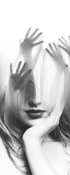 I like the idea of using Photoshop to create this image and creating a simple portrait into something more meaningful Double Exposure Photography, White Photography, Portrait Photography, Digital Art Photography, Dream Photography, Photomontage, Double Exposition, Multiple Exposure, Surrealism Photography