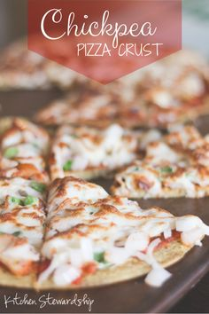 Recipe Connection: Grain-Free, High Protein Pizza Crust (Stovetop!)