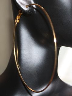 Seasons Change Extra Large Gold Hoop Earrings Online Ed By Nvy