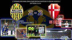 HELLAS VERONA-PADOVA 2-2 Serie Bwin www.hellasveronastyle.eu